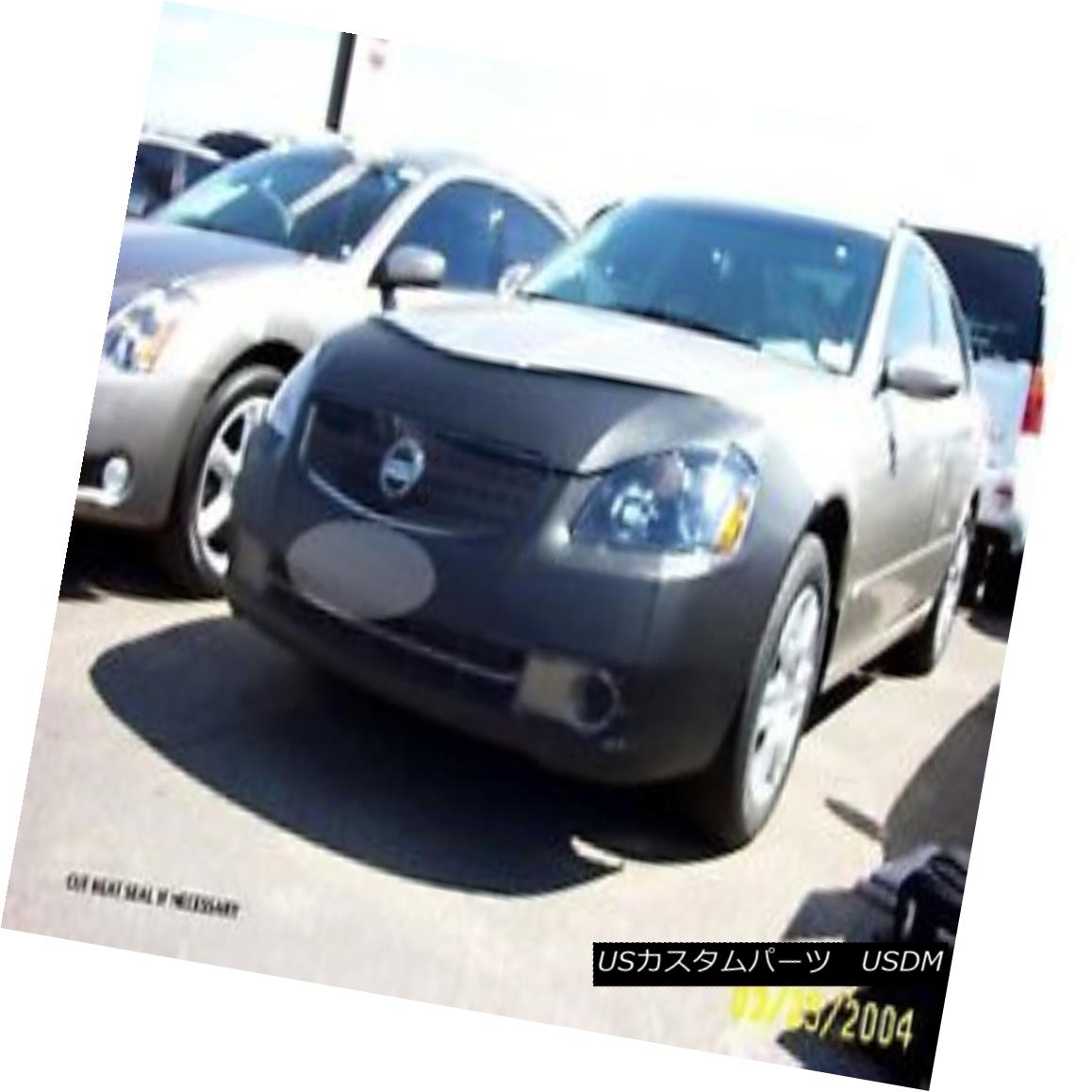 USフルブラ・USノーズブラ Lebra Front End Cover Mask Bra Fits Nissan Altima SE-R 2005-2006 LebraフロントエンドカバーマスクブラはNissan Altima SE-R 2005-2006に適合