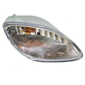 コーナーライト New Passengers Park Signal Front Marker Light Lamp Lens DOT 98-02 Escort ZX2 新しい乗客パーク信号フロントマーカーライトランプレンズDOT 98-02エスコートZX2