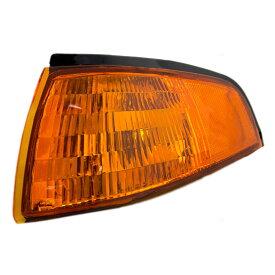 コーナーライト New Drivers Park Signal Marker Light Lamp Lens Housing DOT 93-96 Ford Escort 新しいドライバパーク信号マーカーライトランプレンズハウジングDOT 93-96 Ford Escort