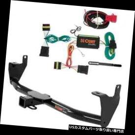 ヒッチメンバー カートクラス3トレーラーヒッチ& A FIAT 500X用の配線 Curt Class 3 Trailer Hitch & Wiring for FIAT 500X