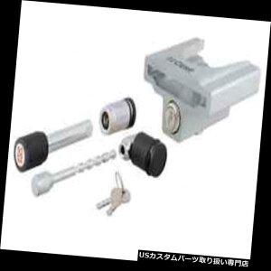 """ヒッチメンバー Curt 23086ヒッチ& A 1-7 / 8 """"& 2""""カプラー用カプラークロームロックセット Curt 23086 Hitch  Coupler Chrome Lock Set for 1-7/8""""  2"""" Couplers"""