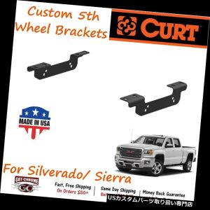 ヒッチメンバー 16411カートカスタム5番ホイールヒッチブラケットキットはシルバラード/シエラにフィット 16411 Curt Custom 5th Fifth Wheel Hitch Bracket Kit fits Silverado / Sierra