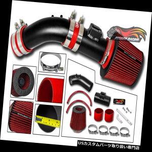 エアインテーク インナーダクト マットブラックショートRAMエアインテークキット+フィルター用04-07 Accord 2.4 SULEV L4 MATTE BLACK SHORT RAM AIR INTAKE KIT + FILTER For 04-07 Accord 2.4 SULEV L4