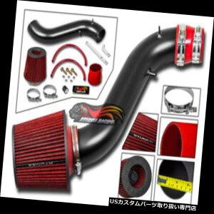 エアインテーク インナーダクト マットRAMエアインテークキット+ 90-93 Honda Accord 2.2L DX LX EX SE用レッドフィルター MATTE RAM AIR INTAKE KIT+ RED FILTER FOR 90-93 Honda Accord 2.2L DX LX EX SE
