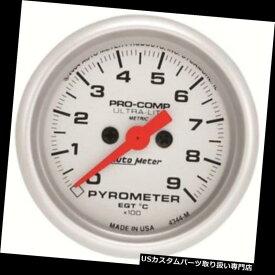 USタコメーター ガレージセール - オートメーター4344-Mウルトラライトデジタルステッパーモーターパイロメーターゲージ Garage Sale - Auto Meter 4344-M Ultra-Lite Digital Stepper Motor Pyrometer Gauge