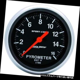 USタコメーター ガレージセール - オートメーター3544スポーツコンプデジタルステッパーモーターパイロメーターゲージ Garage Sale - Auto Meter 3544 Sport-Comp Digital Stepper Motor Pyrometer Gauge