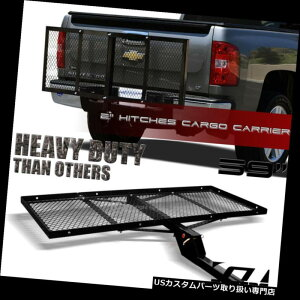 """カーゴ ルーフ キャリア 黒い網の折り畳み式のトレーラーの連結器の荷物の貨物運送業者の棚の運送業者の皿59 """"G17 Black Mesh Foldable Trailer Hitch Luggage Cargo Carrier Rack Hauler Tray 59"""" G17"""