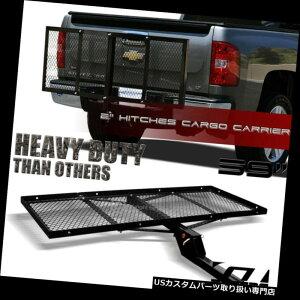 """カーゴ ルーフ キャリア 黒い網の折り畳み式のトレーラーの連結器の荷物の貨物運送業者の棚の運送業者の皿59 """"G34 Black Mesh Foldable Trailer Hitch Luggage Cargo Carrier Rack Hauler Tray 59"""" G34"""