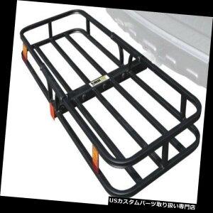 カーゴ ルーフ キャリア 貨物運搬船のトレーラーの連結器の軽量の自動バスケットの棚の荷物の受信機の台紙 Cargo Carrier Trailer Hitch Lightweight Auto Basket Rack Luggage Receiver Mount