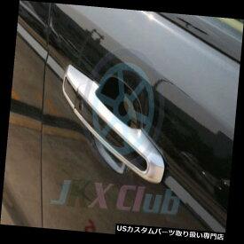 クロームカバー メッキカバー Range Rover Evoque 12-18のためのABSクロム銀製のドアハンドルカバートリムフィット ABS Chrome Silver Door Handle Cover Trim Fit For Range Rover Evoque 12-18