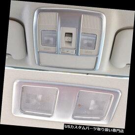 クロームカバー メッキカバー マツダ6のアンテナ14-17カバーのためのクロム屋根の地図の読書ライトパネルのトリム Chrome Roof Map Reading Light Panel Trim For Mazda 6 Atenza 14-17 Cover