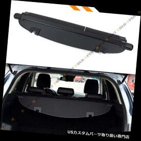 リアーカーゴカバー 2017-18マツダCX5格納式トランク貨物カバー荷物シェードシールド - ブラック For 2017-18 Mazda CX5 Retractable Trunk Cargo Cover Luggage Shade Shield-Black