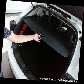 リアーカーゴカバー マツダCX-5 CX5 2017-18ブラックリアトランクセキュリティシールドカーゴカバー1セット用 For Mazda CX-5 CX5 2017-18 Black Rear Trunk Security Shield Cargo Cover 1set