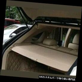 リアーカーゴカバー レクサスRX350 RX450H 10-15格納式ベージュカーゴカバーリアトランクラゲッジシェード Lexus RX350 RX450H 10-15 Retractable Beige Cargo Cover Rear Trunk Luggage Shade