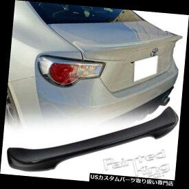 GTウィング トヨタGT86 86サイオンFR-SスバルBRZ TRDリアトランクスポイラーウイング用塗料 Unpaint FOR Toyota GT86 86 Scion FR-S Subaru BRS TRD Rear Trunk Spoiler Wing