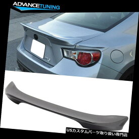 GTウィング 13-17 Scion FRSスバルBRZ TRDスタイルトランクスポイラーウイングにフィット Fits 13-17 Scion FRS Subaru BRZ TRD Style Trunk Spoiler Wing