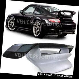 GTウィング ポルシェ911 997 Gt 2スタイルカーボンファイバーFrpトランクリッドリアウイングスポイラー2004 - 12 Porsche 911 997 Gt2 Style Carbon Fibre Frp Trunk Lid Rear Wing Spoiler 2004 - 12