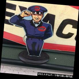 GTウィング ガルフスタンドマンモーターオイルガソリンディスプレイ GULF STAND UP MAN MOTOR OIL GASOLINE DISPLAY TEXACO SONOCO STANDARD SINCLAIR