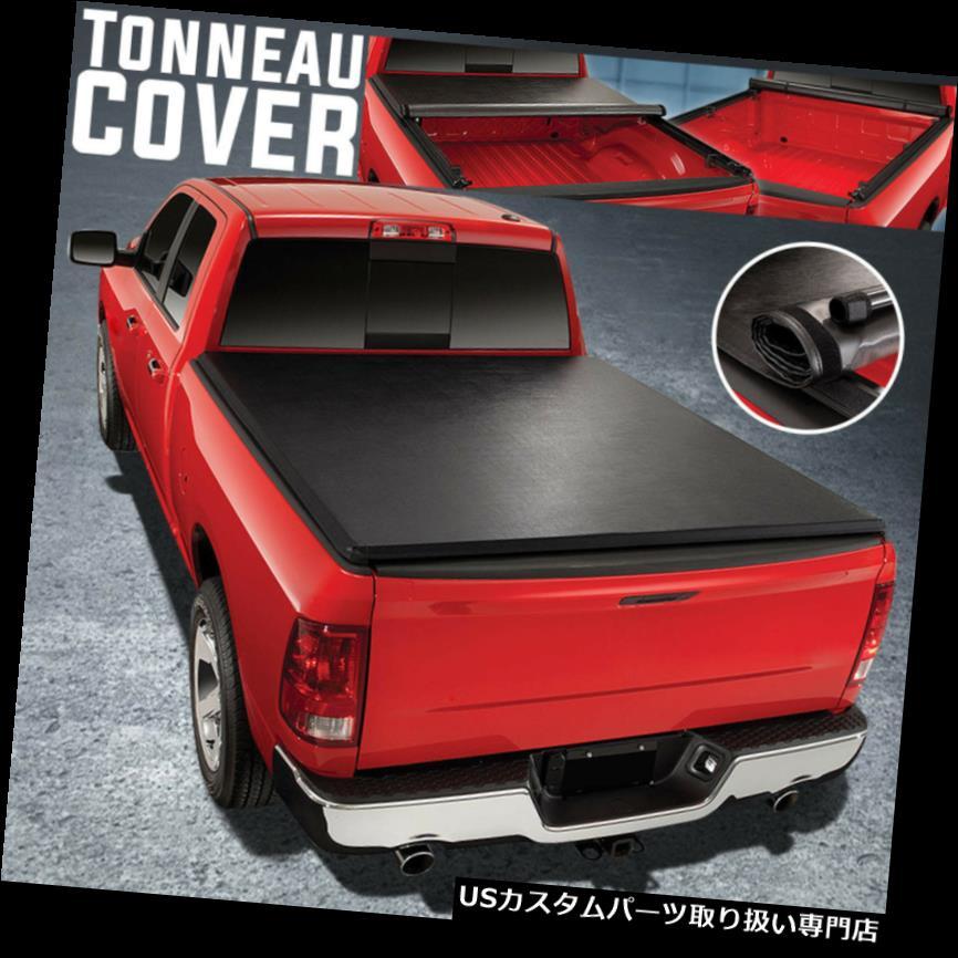 トノーカバー トノカバー 07-18トヨタツンドラ6.5 'ショートベッドロールアップソフビトンソーカバーアセンブリ For 07-18 Toyota Tundra 6.5' Short Bed Roll-Up Soft Vinyl Tonneau Cover Assembly