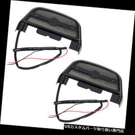 トライク カバー ハーレーツーリングトライクブラック用フィット乗客用フットボードフロアボードカバー Lighted Passenger Footboard Floorboard Cover Fit for Harley Touring Trike Black