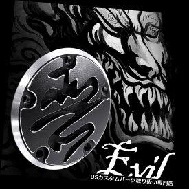 トライク カバー VAWiK? 2010-2011ハーレイストリートグライドトライク - FLHXXXのための邪悪なポイントタイマーカバー VAWiK 惡 evil point timer cover for 2010-2011 Harley Street Glide Trike-FLHXXX