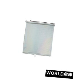 133cm x 56cm Black Clear Dotted Car Front Side Window Sunshade w Suction Cups