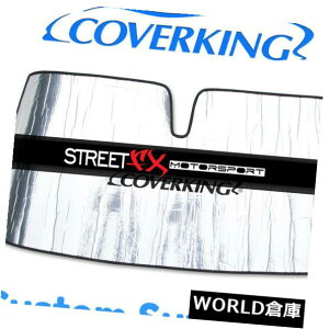 USサンバイザー ダッジデュランゴのための注文の風防ガラスの日よけ/盾を覆う Coverking Custom Windshield Sun Shade / Shield for Dodge Durango