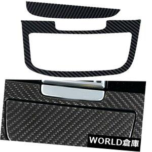 コンソールボックス 車のインナーコンソール灰皿パネルカバートリムカーボンファイバーフィットポルシェカイエン Car Inner Console Ashtray Panel Cover Trim Carbon Fiber Fit for Porsche Cayenne