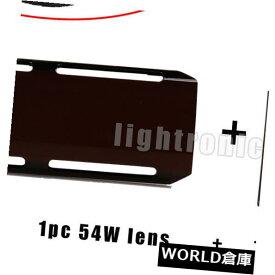 "LEDライトバー 2 ""12"" LEDオフロード作業用ライトバー4x4用ブラック72Wレンズカバージープオフスナップ 2pc Snap on off Black 72W Lens Cover Jeep for 12"" LED OffRoad Work Light Bar 4x4"