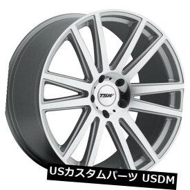 海外輸入ホイール 20x10 TSW Gatsby 5x130リム+35シルバーホイール(4個セット) 20x10 TSW Gatsby 5x130 Rims +35 Silver Wheels (Set of 4)