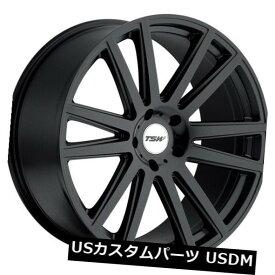 海外輸入ホイール 20x10 TSWギャツビー5x130リム+35マットブラックホイール(4個セット) 20x10 TSW Gatsby 5x130 Rims +35 Matte Black Wheels (Set of 4)