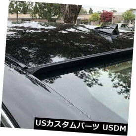 ルーフスポイラー ヒュンダイElantra 2016-2018第6世代リアウィンドウルーフスポイラー(Unpain ted) For Hyundai Elantra 2016-2018 6th Gen Rear Window Roof Spoiler(Unpainted)