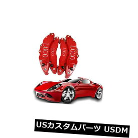 ブレーキカバー 4PCS 3Dブレーキキャリパーカバーbre ..フロント& リアラージ& ミドル高品質レッド 4PCS 3D Brake Caliper Cover bre.. Front & Rear large & middle high quality Red