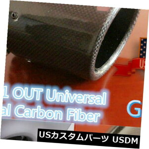 マフラーカッター カーボンファイバーカーエキゾーストチップパイプ63mm 101mmマフラーステンレススチールUS在庫 Carbon Fiber Car Exhaust Tip Pipe 63mm 101mm Muffler Stainless Steel US Stock