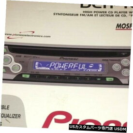 In-Dash ボックスに新しいダッシュレシーバーAm / FmのビンテージパイオニアDEH-1600 CDプレーヤー Vintage Pioneer DEH-1600 CD Player In Dash Receiver Am/Fm New In Box