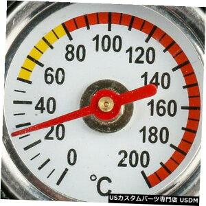 ラジエーターカバー 1.3BAR車の水Tankのラジエーターの帽子カバー温度計アルミニウム 1.3BAR Car Water Tank Radiator Cap Cover Temperature Gauge Aluminum