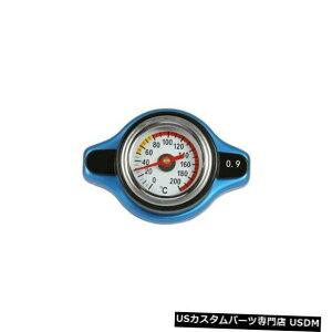 ラジエーターカバー サーモラジエーターキャップタンクカバー付きビッグヘッド温度計(0.9Bar) Big Head Temperature Gauge with Thermo Radiator Cap Tank Cover (0.9Bar)