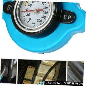 ラジエーターカバー 水温温度計L0G7付き0.9バールサーモスタットラジエーターキャップカバー 0.9 Bar Thermostatic Radiator Cap Cover with Water Temp Temperature Gauge L0G7