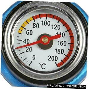 ラジエーターカバー 1.1水温温度計SU付きサーモスタットラジエーターキャップカバー 1.1 Bar Thermostatic Radiator Cap Cover with Water Temp Temperature Gauge SU