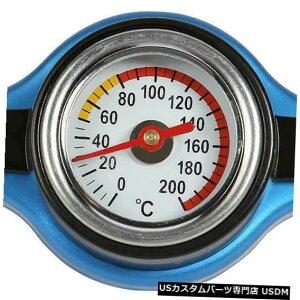 ラジエーターカバー 温度計の普遍的で大きい頭部が付いている0.9棒サーモスタットのラジエーターの帽子 0.9 Bar Thermostatic Radiator Cap With Temperature Gauge Universal Big Head