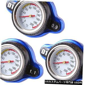 ラジエーターカバー 普遍的なサーモスタットの自動ラジエーターの帽子の温度計カバー水車 Universal Thermostatic Auto Radiator Cap Temperature Gauge Cover Water Vehicle