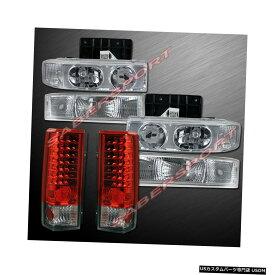 Tail light コンボヘッドライト+パークシグナルランプ+ LEDテールランプ(1995?2005アストロバン用) Combo Headlights + Park Signal Lamps + LED Taillights for 1995-2005 Astro Van
