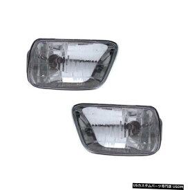 フォグランプペアセットの02から09シボレートレイルブレイザーのためのLS / LT / 02-03 LTZ左&正しい Fog Lights Pair Set for 02-09 Chevy Trailblazer LS/LT/02-03 LTZ Left & Right
