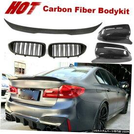 ABS Black Fits 17-20 BMW G30 Sedan 4Dr M5 Performance Style Trunk Spoiler