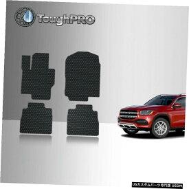 Floor Mat ToughPROフロアマットブラックメルセデスベンツGLS580ベンチオールウェザー2020-2021 ToughPRO Floor Mats Black For Mercedes-Benz GLS580 Bench All Weather 2020-2021