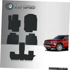 Floor Mat ToughPROフロアマット+メルセデスベンツGLS580ベンチ2020-2021用3列目ブラック ToughPRO Floor Mats + 3rd Row Black For Mercedes-Benz GLS580 Bench 2020-2021