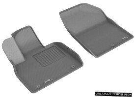 Floor Mat 3D MAXpider L1HY10011501 KAGUフロアマットは20-21パリセードに適合 3D MAXpider L1HY10011501 KAGU Floor Mat Fits 20-21 Palisade
