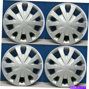 """Wheel Covers Set of 4 FITS 2012-2018日産バーサスタイル15"""" ホイールキャップ/ホイールNEW SET / 4#496-15Sカバー FITS 2012-2018 Nissan Versa Style 15"""" Hubcaps / Wheel Covers NEW SET/4 # 496-15S"""