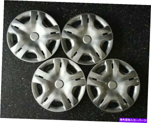 """Wheel Covers Set of 4 FITS 2010-2012日産バーサスタイル#497-15S 15"""" ホイールキャップ/ホイールNEW SET / 4カバー FITS 2010-2012 Nissan Versa Style # 497-15S 15"""" Hubcaps / Wheel Covers NEW SET/4"""
