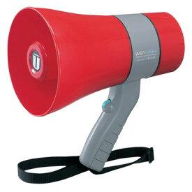 拡声器 ユニペックス 6W 防滴形 小型メガホン 拡声器 TR-215SA